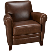 Regency Leather Accent Chair