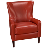Bermuda Leather Accent Chair