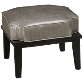 Leather Stacker Ottoman