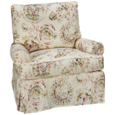 Addison Accent Swivel Chair with Slipcover (also available in Sunbrella)