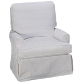Daniel Swivel Glider with Slipcover