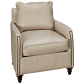 Hayes Leather Accent Chair