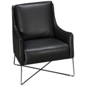 Windham Leather Accent Chair