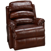 Hightower Leather Swivel Rocker Recliner