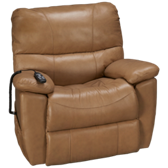 Crawford Leather Power Lift Recliner