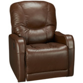 Leather Power Rocker Recliner