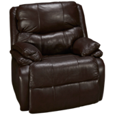 Cooper Leather Power Recliner