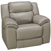 Adelino Leather Power Recliner