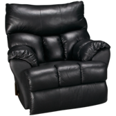 Dreamer Leather Swivel Rocker Recliner