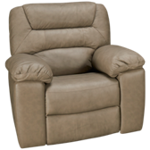 Boggs Leather Rocker Recliner