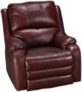 Power Leather Wall Recliner