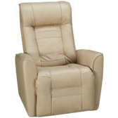 Glacier Bay Leather Rocker Recliner