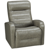 Mountain Leather Power Swivel Glider Recliner