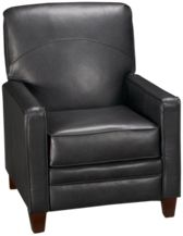 Leather High Leg Recliner