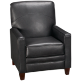 Selection Leather High Leg Recliner