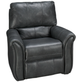 Leather Power Lay Flat Recliner