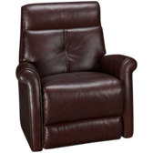 Leather Glider Swivel Recliner