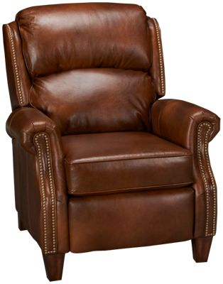 Flexsteel-Whistler-Flexsteel Whistler Leather Recliner - Jordan'S