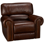 Norton Power Leather Recliner