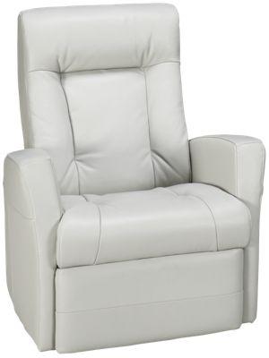 palliser banff leather power swivel glider recliner