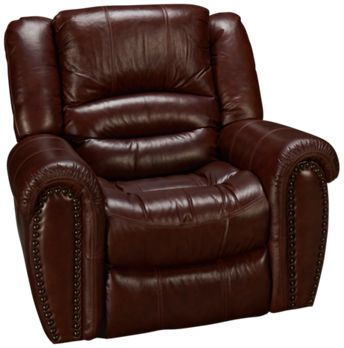 FlexsteelCrosstownFlexsteel Crosstown Power Leather Recliner - Flexsteel sofa leather