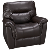 Bonded Leather Power Recliner