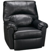 Bonded Leather Power Rocker Recliner