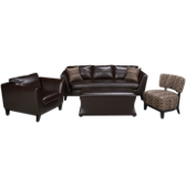 4 Piece Living Room Sofa Set