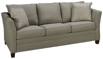 Klaussner Home Furnishings Taylor Klaussner Home Furnishings Taylor Queen Sleeper  Sofa With Memory Foam Mattress   Jordanu0027s Furniture