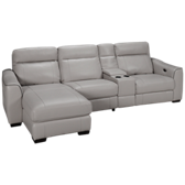 Htl Furniture Dustin Htl Furniture Dustin 5 Piece Reclining Leather Sectional Jordan 39 S Furniture