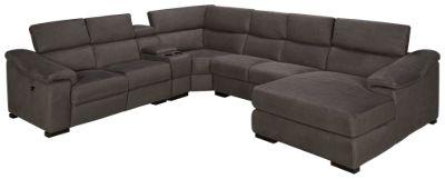 HTL Furniture-Metro-HTL Furniture Metro 5 Piece Reclining Sectional - Jordanu0027s Furniture  sc 1 st  Jordanu0027s Furniture : htl furniture sectional - Sectionals, Sofas & Couches