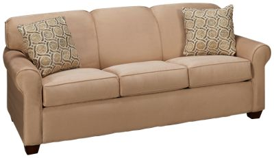 Klaussner Home Furnishings Mayhew Klaussner Home Furnishings Mayhew Queen Sleeper  Sofa With Memory Foam Mattress   Jordanu0027s Furniture