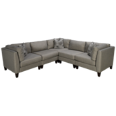 Sunbrella - McGraw 5 Piece Sectional