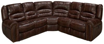 Flexsteel-Downtown-Flexsteel Downtown 3 Piece Reclining Sectional - Jordanu0027s Furniture  sc 1 st  Jordanu0027s Furniture : 3 piece reclining sectional - Sectionals, Sofas & Couches