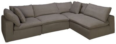Synergy Peyton 4 Piece Sectional. Product Image. Product Image. Roll Over To Zoom  sc 1 st  Jordanu0027s Furniture : 4 piece sectional - Sectionals, Sofas & Couches