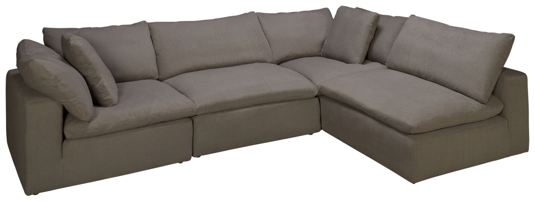 Synergy Peyton Synergy Peyton 4 Piece Sectional Jordan s Furniture