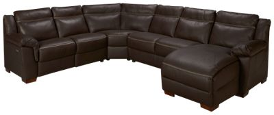Natuzzi Editions-Naples-Natuzzi Editions Naples 4 Piece Reclining Leather Sectional - Jordanu0027s Furniture  sc 1 st  Jordanu0027s Furniture : natuzzi sectionals - Sectionals, Sofas & Couches