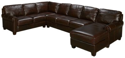 soft line tuscany 3 piece sectional furniture - 3 Piece Sectional Sofa