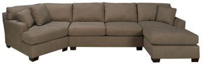 Max Home Jessica 3 Piece Sectional  sc 1 st  Jordanu0027s Furniture : max home sectional - Sectionals, Sofas & Couches