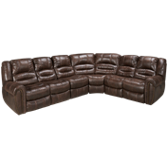 4 Piece Reclining Sectional