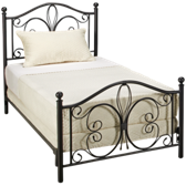 Twin Milwaukee Bed