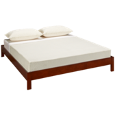 Queen Murray Platform Bed - Mahogany