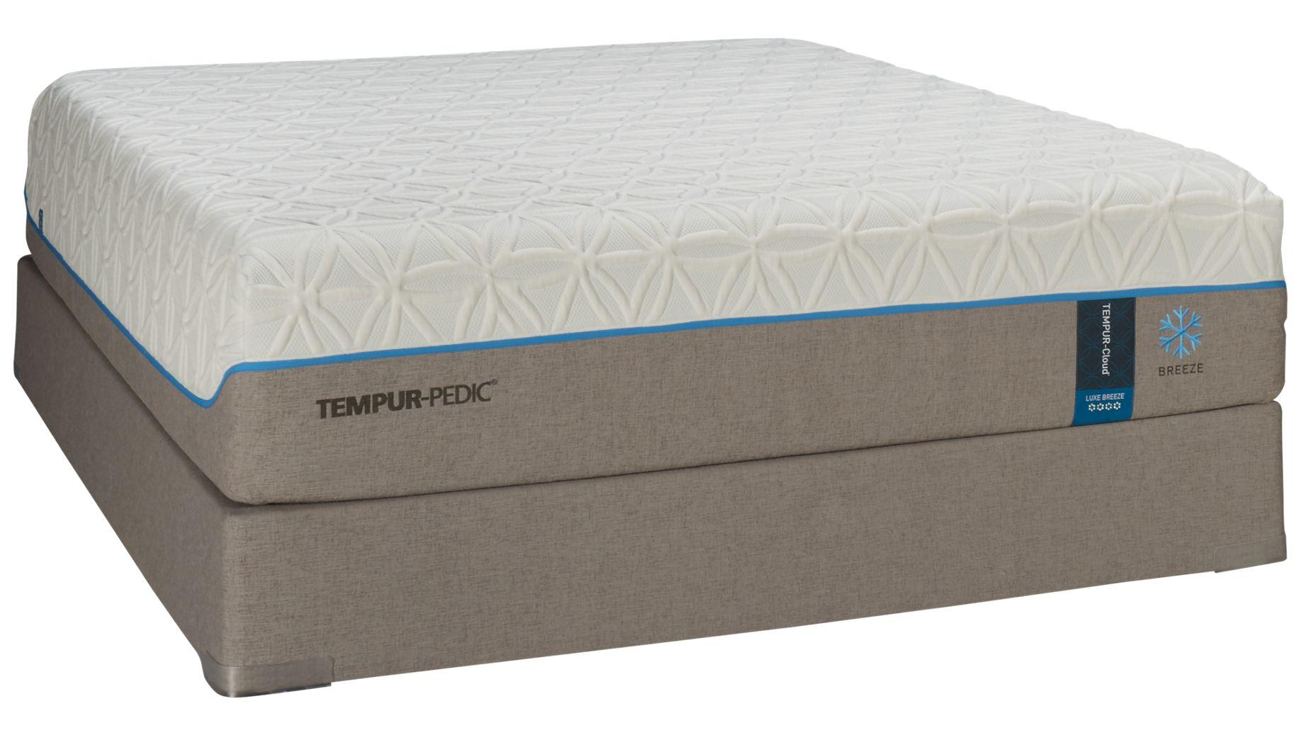 Tempur Pedic Cloud Luxe Breeze Mattress Set