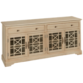 Antique Cream Media Unit