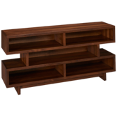 "Walnut Heights 60"" Open Console"