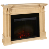 Kendal Fireplace Mantel with Remote