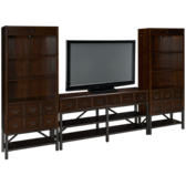 Carolina Entertainment Console with 2 Piers