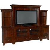 Vineyard 6 Piece Entertainment Center
