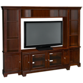 Hamilton 4 Piece Entertainment Center