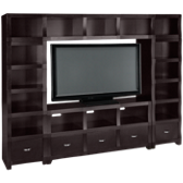 Sangria 4 Piece Entertainment Center